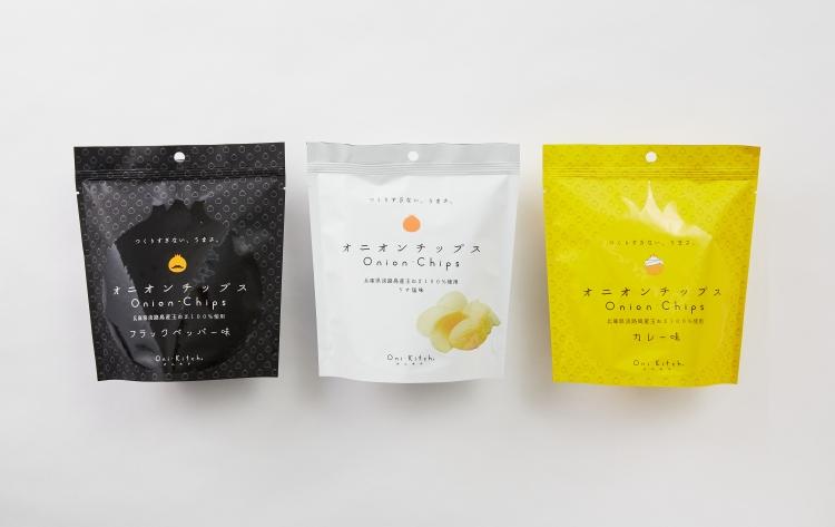 日本健康零食 淡路島洋蔥脆片 宮古島海鹽風味 沖繩薑黃咖哩風味 久米島大蒜黑胡椒風味
