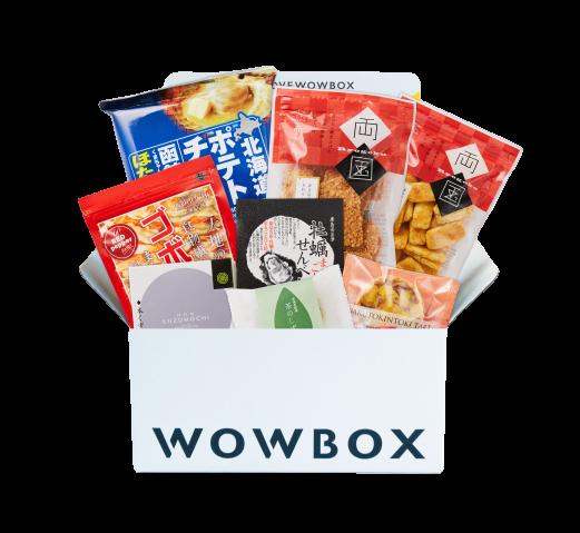 WOWBOX和Japaholic聯名特選菓盒Kashiori 日本零食 日本特產