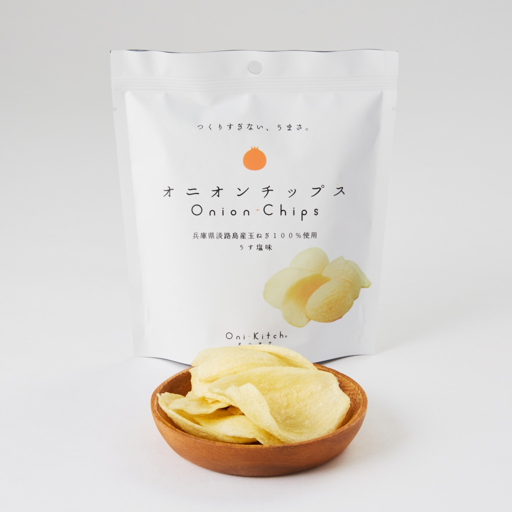 日本健康零食 淡路島洋蔥脆片 宮古島海鹽風味