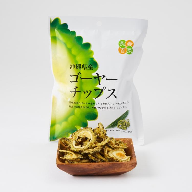 日本健康零食 沖繩縣產天然苦瓜脆片