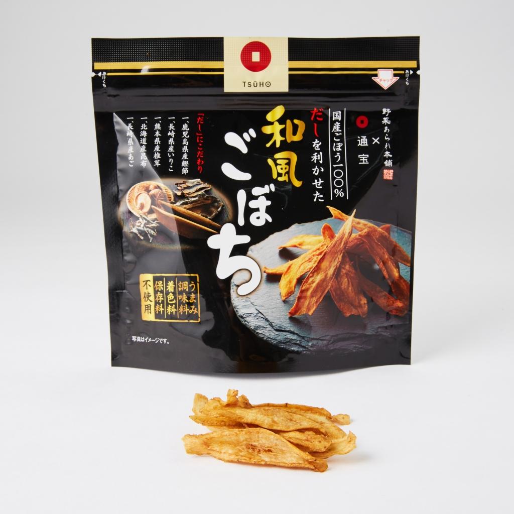 GOBOCHI日本牛蒡脆片xTSUHO通寶聯名版和風高湯風味