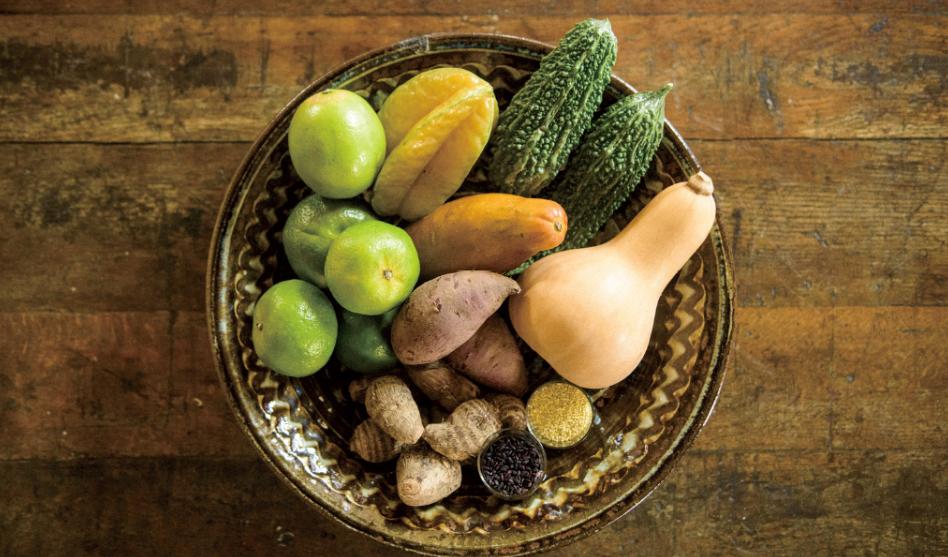 日本沖繩島蔬菜