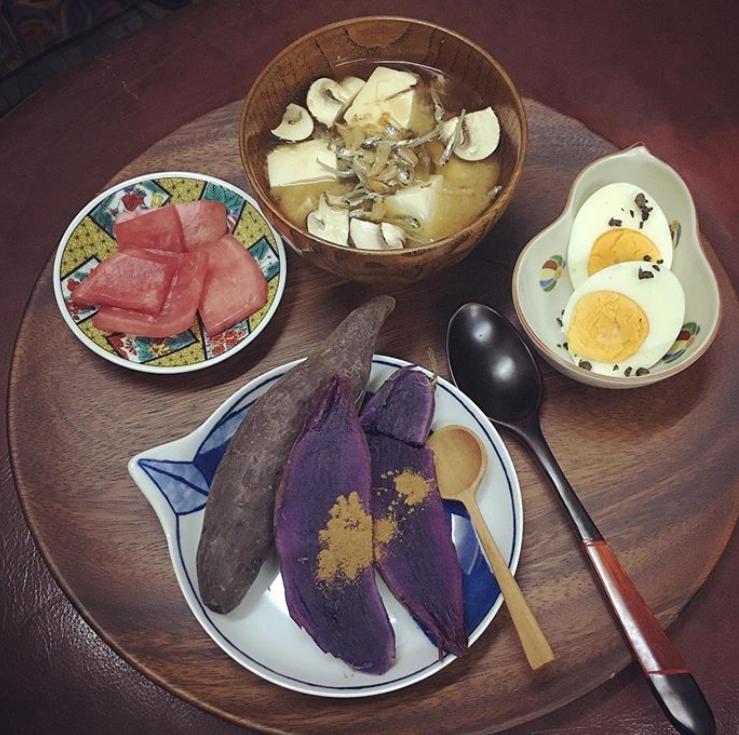 日本沖繩紫薯家庭料理