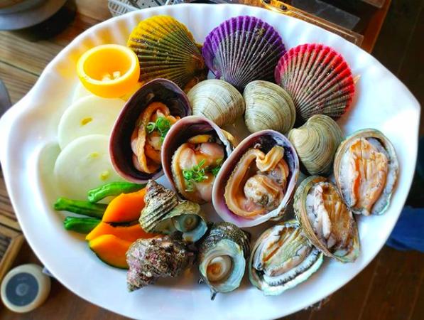 日本淡路島美食 新島水產東浦商店 海鮮燒烤